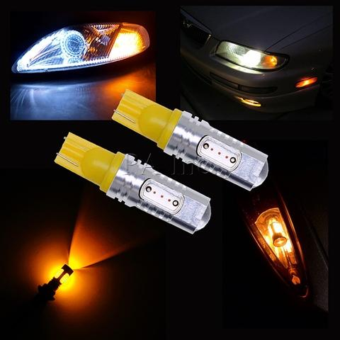 YELLOW AMBER CAR LIGHT AUTO BULB