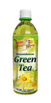 Authentic Assam Chrysanthemum Green Tea (Bottle)