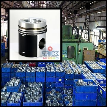 Forged Piston,Liner Kit, Engine Parts with Full Range from Small Vehicle to Heavy Duty with Diesel Engine