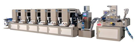 Shaftless Offset Intermittent Rotary Printing Machine
