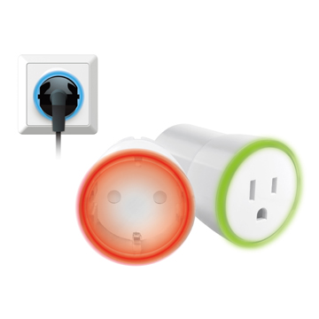 Nano Wi-Fi Smart Plug Switch with Power Meter & Nightlight, Intelligent Home Energy Management