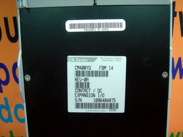 FOXBORO I/A Series CM400YQ FBM14 CONTACT / DC EXPANSION I/O