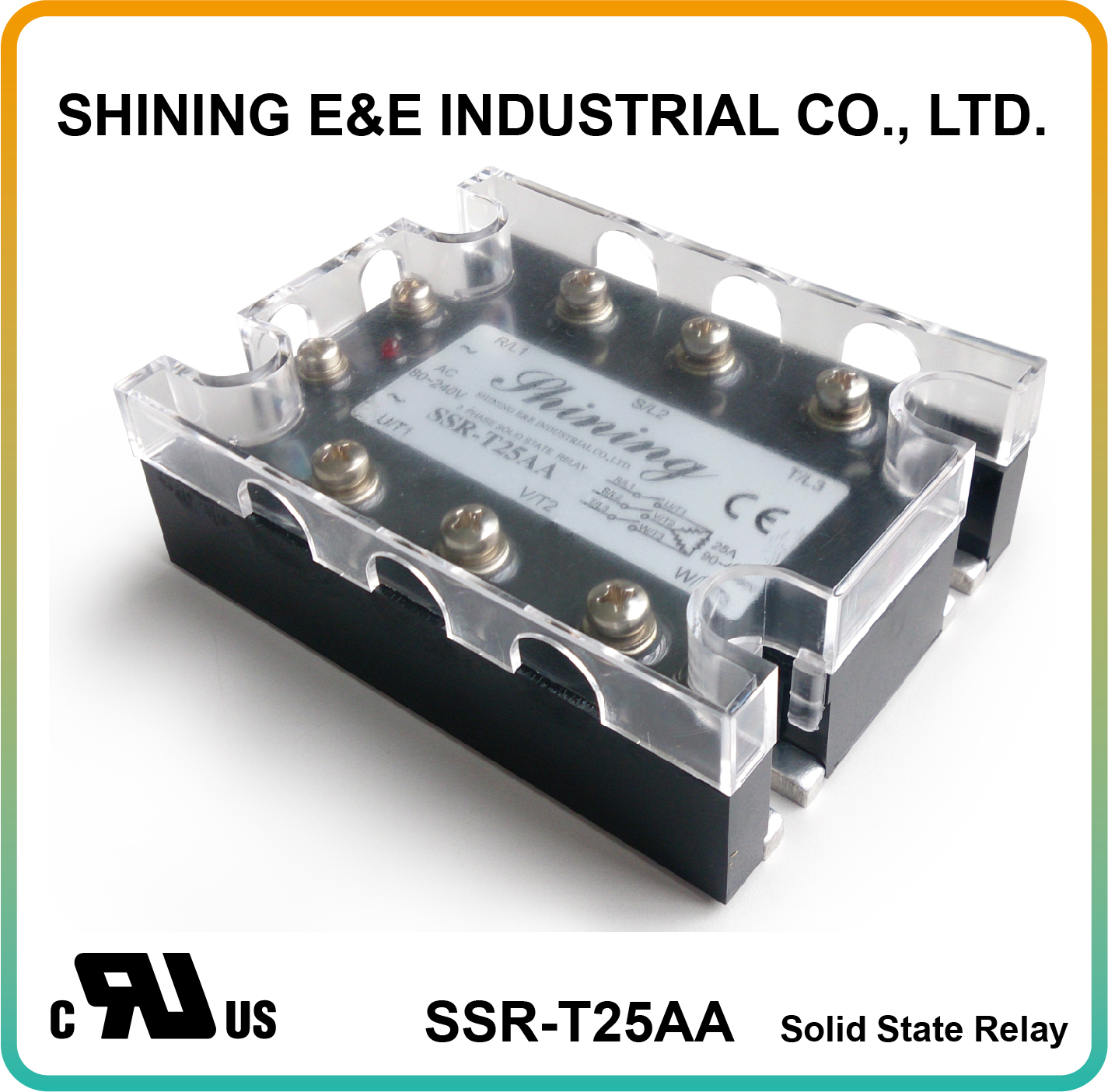 Taiwan Ssr T25aa Ac To Zero Cross Three Phase 25a Solid State Relay For Relays