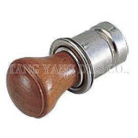 CIGARETTE LIGHTER HEAD (2-STAGE) - WOODEN KNOB