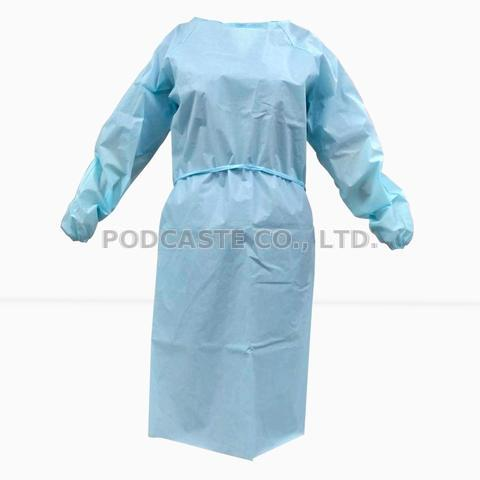 AAMI Level2 - Disposable Non Woven Isolation Gown