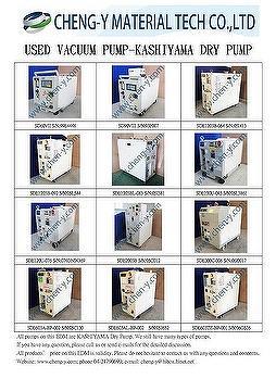 KASHIYAMA 干泵,SD60VII,SD90VIII,SDE603,