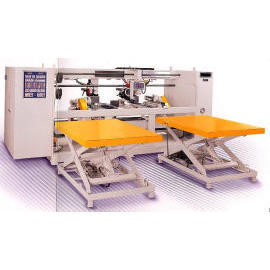 Semi-Auto Wire Stitcher of Twin Head, Stitching Machine of Twin Head