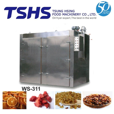 High Working Industrial Box Type Sausage Drying Plant