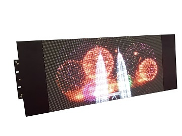 Acoustic Components, True Color LED Sign for Buses (Side)