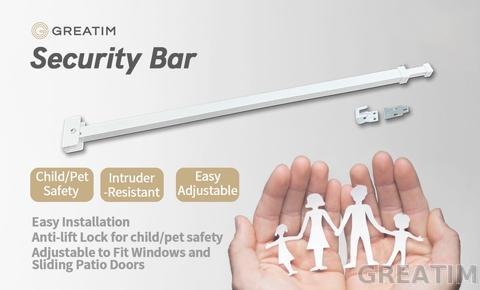 Patio Door Security Bar