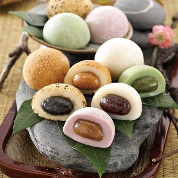 OEM Wholesale Various Flavors Mochi Manufacturer Popular Snacks in Asia