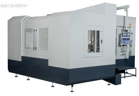 Tisch-Tieflochbohrmaschine - Fräsen-Gewindebohren-Vollspritzschutz