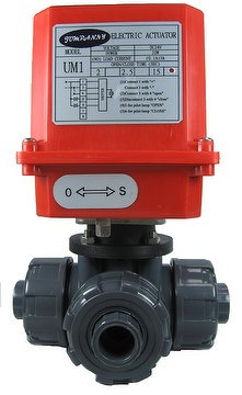 Electric actuator ball valve PVC,CPVC , jumpanny