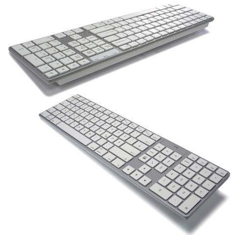 Bàn phím kích thước đầy đủ tương thích Mac Bluetooth không