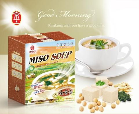 Kingkung-Miso Soup