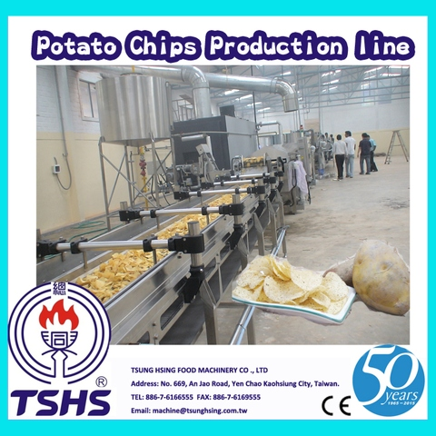 2014 New Qualified Efficient Continual Potato Chips Supplier