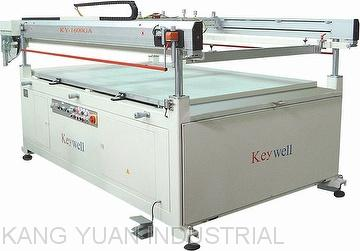 Semi-auto Large Format Four-post Screen Printing Machine