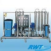2 Pass RO System & DI Water System