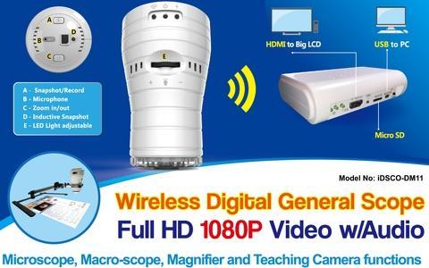 Wireless Full HD Document Camera