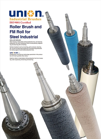 ROLLER BRUSH & FM ROLLS SERIES