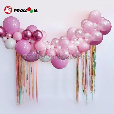 Rose balloon garland for boy and girl birthday party |