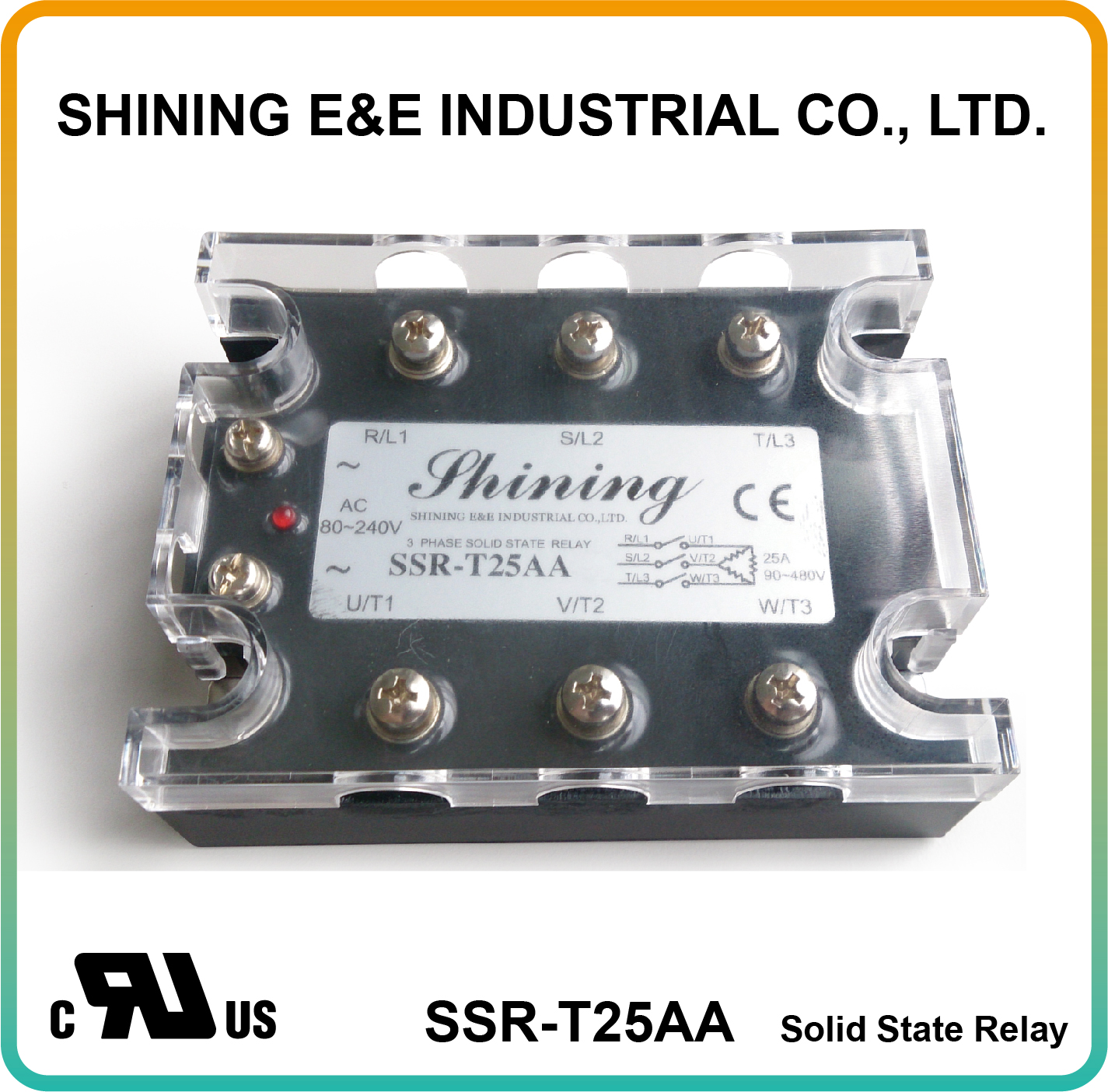 Taiwan Ssr T25aa Ac To Zero Cross Three Phase 25a Solid State Relay 240v Relays