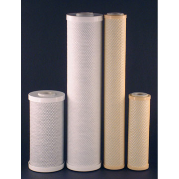 Extruded Coconut Carbon Block Filter Cartridge