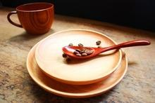 wooden table-ware set