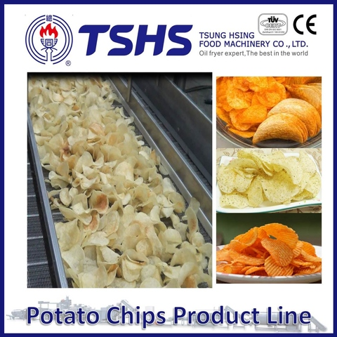 Made in Taiwan High Quality Mister Potato Chips Machine