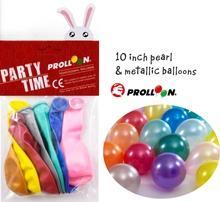 """10 """"шары украшения партии  металлические и жемчужные шары"""