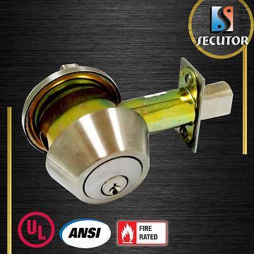 Taiwan Ansi Grade 1 Heavy Duty Cylindrical Deadbolt Lock
