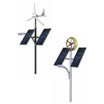 Solar+Wind Street Light