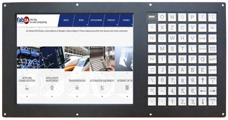 10.4 inch Touch Screen LCD Monitor with Keyboard(FD7805T)