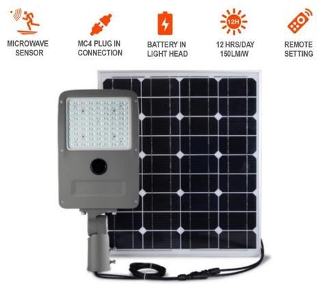 All-In-Two Solar Street Light