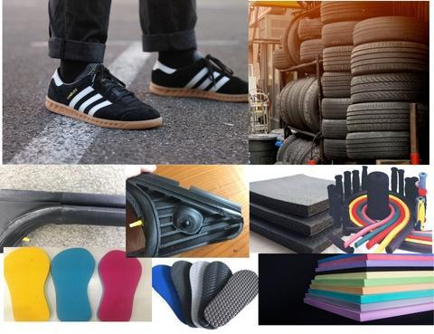 Rubber  footwear, rubber tire, car EPDM Industries,