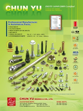 Automotive Fasteners, Special Screw & Bolt