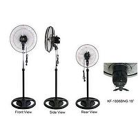 "KF-1806BNG 18"" (45cm) Industrial Stand Fan"