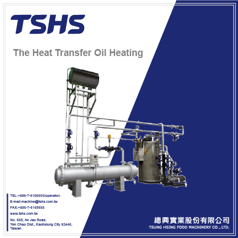 The Heat Transfer Oil Heating System Fryer