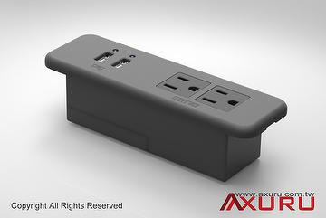 Charmant Taiwan Power Sockets ,Power Outlet,USB,Charger,Furniture,Plug,AC,5V2A,Switch,Supply,  Extension Cord | AXURU TECHNOLOGY CO., LTD. | Taiwantrade.com
