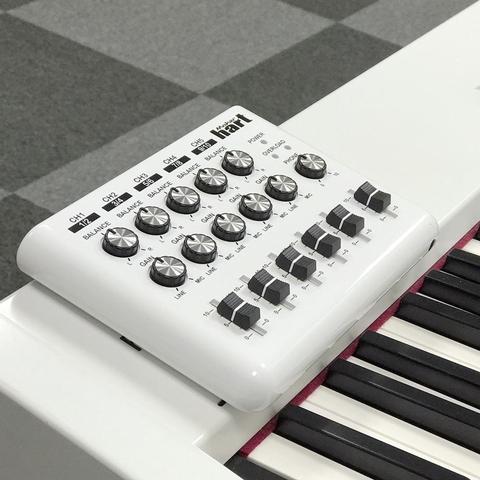 Maker hart портативный Звукосмеситель Звуковой Микшер для DJ 3.5мм 120В