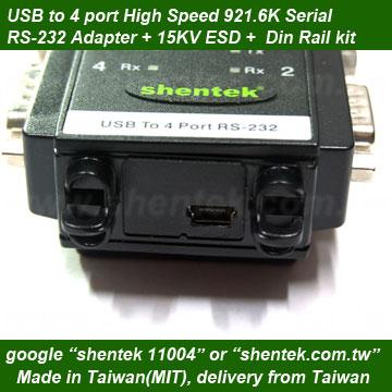 FTDI USB to Serial Virtual com 4 Ports