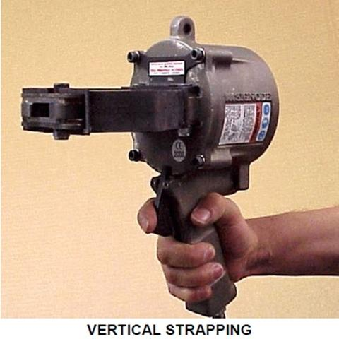 Pneumatic Sealer Steel Strapping Tool