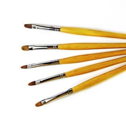 pure kolinsky wooden handle cat gel nail art brush