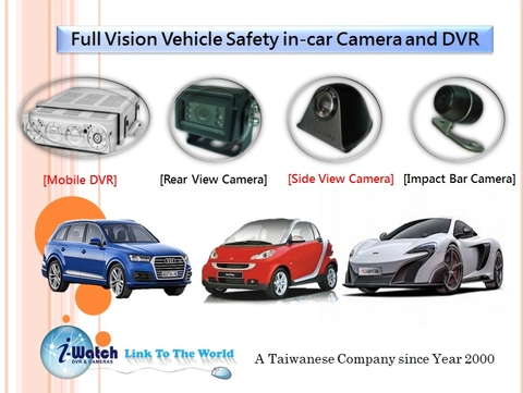 IW-DM5008 Night Vision In Car Rear View Camera