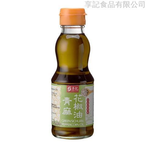 Green Sichuan Peppercorn Oil 185ml