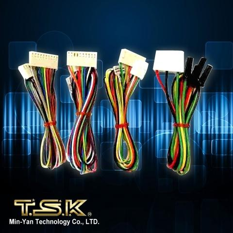 TSK Taiwan Slot Game Machine KIT: KM-7 Harness Wire Set