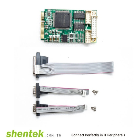 Taiwan embedded serial rs232 parallel mini PCie card   Taiwantrade