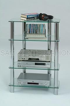 Taiwan Glass Tv Cabinet Stand Amp Glass Stereo Stand Sam