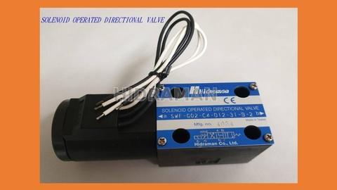 PUSH-PULL TYPE SOLENOID OPERATED DIRECTIONAL VALVE