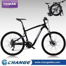 Folding bikes-ChangeBike 26 inch Folding Mountain Bike DF-609D-B Size:21